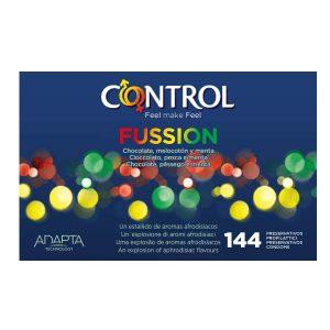 Preservativos de sabores - Preservativos Control Fussion 144 3