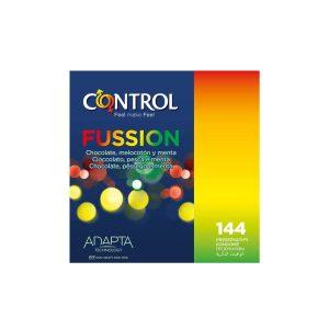 Preservativos de sabores - Preservativos Control Fussion 144 2