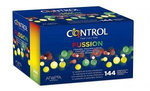 Preservativos de sabores - Preservativos Control Fussion 144