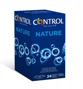 Juguetes sexuales para parejas - Packs de preservativos - Preservativos Control Nature 24 preservativos