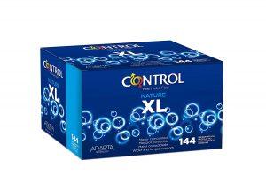 Preservativos de XL - Preservativos Control XL de 144 unidades