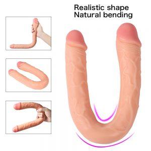 Juguetes sexuales para mujeres - Dildos y consoladores realistas - Dildo doble