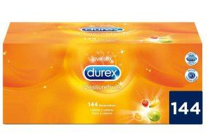 Preservativos de sabores - Preservativos Durex 144