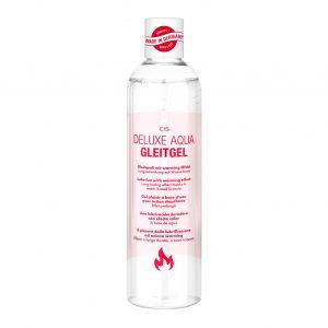 Lubricantes sexuales - Lubricantes para parejas - EIS, Lubricante Deluxe Aqua, efecto de larga duración de base acuosa calido