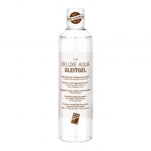 Lubricantes sexuales - Lubricantes para parejas - EIS, Lubricante Deluxe Aqua, efecto de larga duración de base acuosa chocolate