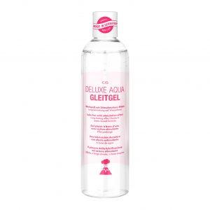 Lubricantes sexuales - Lubricantes para parejas - EIS, Lubricante Deluxe Aqua, efecto de larga duración de base acuosa sensitivo