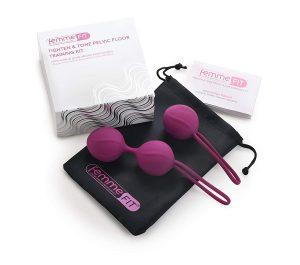 Bolas chinas para ejercicios de Kegel y entrenamiento del suelo pélvico - Bolas chinas Femme Fit