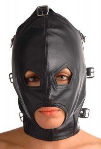 Capuchas para BDSM - Juguetes sexuales para parejas - Mascara premium 4