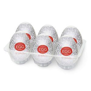 Juguetes sexuales para hombres - Juguetes masturbadores masculinos - Huevos TENGA - Pack 6 party EGG
