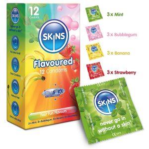 Preservativos de sabores - Preservativos Skins