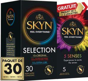 Preservativos sin látex - Preservativos SKYN - Condones SKYN Selection