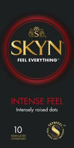 Preservativos sin látex - Preservativos SKYN - Condones SKYN Intense Feel