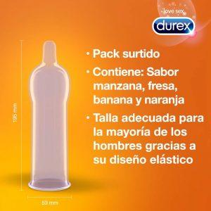 Preservativos de sabores - Preservativos Durex 144 2