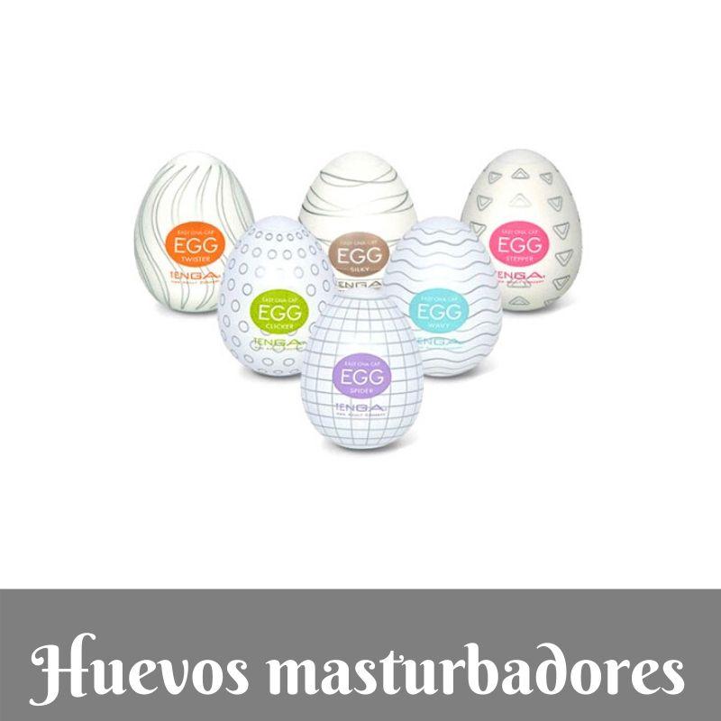 Juguetes sexuales para hombres - HUEVOS TENGA Masturbadores - Los mejores huevos masturbadores de Amazon