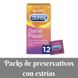 Los mejores packs de preservativos con estrias y puntos de Amazon