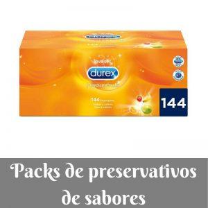 Preservativos para parejas - Los mejores packs de preservativos de sabores de Amazon