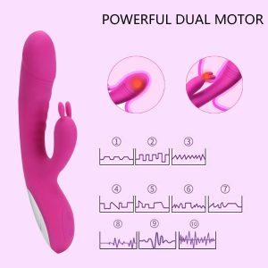 Juguetes sexuales para mujeres - vibradores de conejito - vibrador Fidech por intensidad