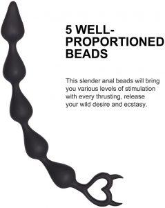 Juguetes sexuales para sexo anal - Cadenas de bolas anales - Cadena anal picante 3