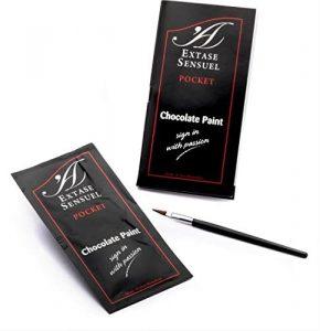 Productos sexuales para parejas - Pinturas comestibles para parejas - Chocolate