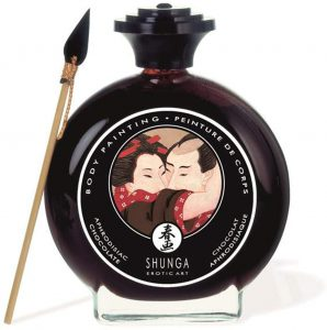 Productos sexuales para parejas - Pinturas comestibles para parejas - Pinturas corporal Shunga para bodypainting