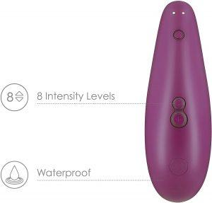 Succionadores de clítoris - Mejores succionadores Womanizer 4 con intensidades