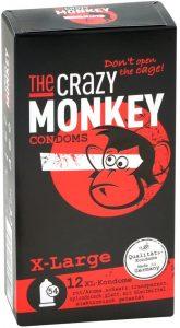 Preservativos XL Crazy Monkey - Los mejores packs de preservativos XL que comprar por internet - Mejor preservativo XL para sexo seguro