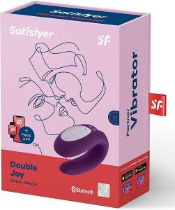 Vibrador con mando de Satisfyer Double Joy Con App 3